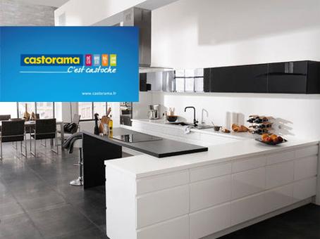 Cuisines castorama devis for Prix cuisine castorama