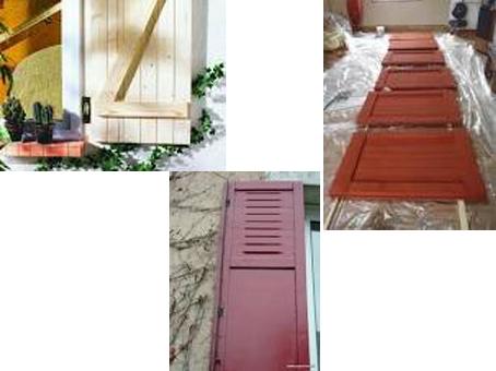 devis pour repeindre les volets. Black Bedroom Furniture Sets. Home Design Ideas